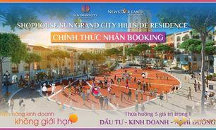 Cơ hội đầu tư sinh lời ngay cho các nhà đầu tư, nhận booking Shophouse Hillside Phú Quốc, pháp lý đủ